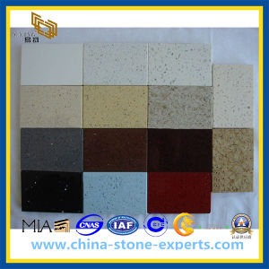 High Quality Engineered Artificial Quartz Stone for Countertop (YQZ-QS1005) pictures & photos