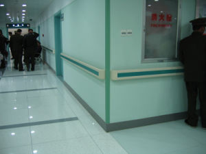 China Manufactures Vinyl Hospital Handrail for Hospital pictures & photos