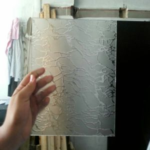 4-12mm Frosted Glass Acid Etched Paint Coated Decorative Art Glass pictures & photos
