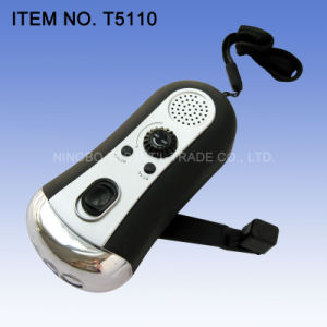 Dynamo Radio Flashlight (T5110) pictures & photos