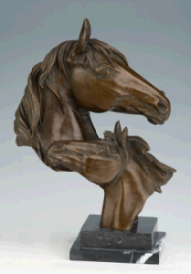 Bronze Sculpture Animal Statue (HYA-1009)