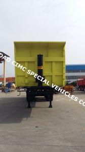 Cimc 40cbm 3 Axle Dump Tipper Semi Truck Trailer pictures & photos
