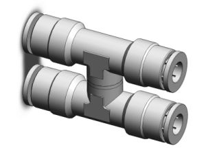 Brass Push in Fittings (Series MPZS)