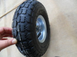 10inches Rubber Wheel and Tyre pictures & photos