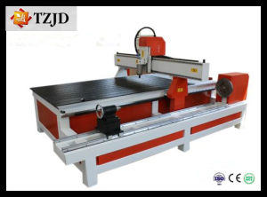CNC Woodworking Machine Cylinder CNC Router (TZJD-1325C) pictures & photos