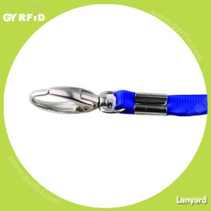 Fabric Lanyards for Event, 1cm Width, Fine Thread, Medium Hook (LY1001) pictures & photos