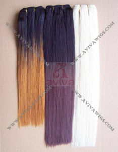 Double Drawn Virgin Remy Human Hair Extensions pictures & photos