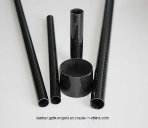 3k Carbon Fiber Tubes, Carbon Fiber Pipes, Colored Carbon Fiber Tubes pictures & photos