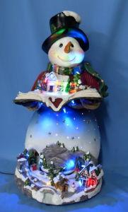Fiber Optic&LED Snowman (13208)