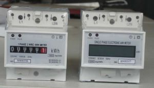 Single Phase Din-Rail Electronic KWH Meter (DDS38)