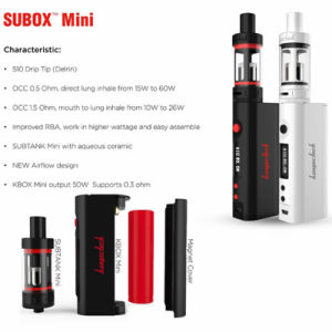 Kangertech Subtank Mini Subox Mini 50W Starter Kit pictures & photos