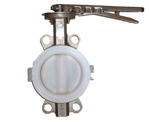 Stainless Steel Corrosion Resistance Butterfly Valve with Split Body pictures & photos