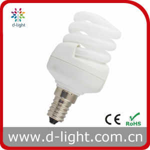 11W E14 Spiral T3 Compact Fluorescent Light pictures & photos
