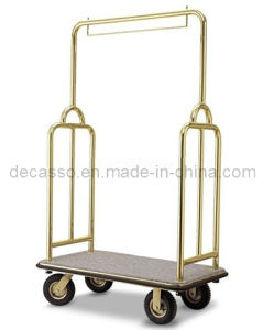 Super Hotel Luxury Luggage Cart Trolley (DF35) pictures & photos