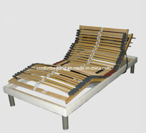 Wood Electric Bed Adjustable (Electric Bed) pictures & photos
