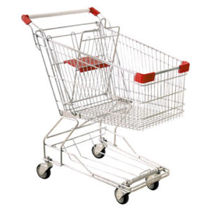 Asian Style Supermarket Shopping Trolley Cart (HY-180A) pictures & photos