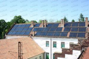 Project Solar Heating Heat Pipe Solar Collector with SRCC, Solar Keymark (SCM, SR, SU, SU-C) pictures & photos