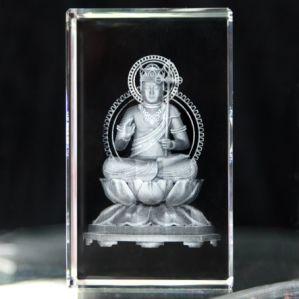 3D Laser Crystal Buda (CC-BU-001)