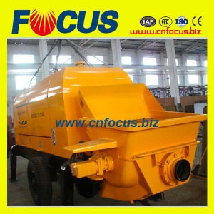 Low Price Small Trailer Construction Pump for Sale pictures & photos