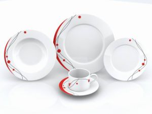 Porcelain Dinner Plate (DI 080621)