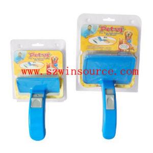 Petsy Pet Brush / Pet Esy Brush / Plastic Pet Brush (WS-5001)