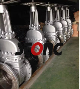 API ANSI Cast Steel Carbon Steel 150lb RF Gate Valve pictures & photos