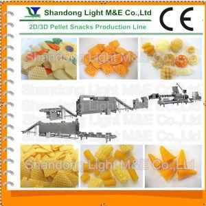 Hot Sale Autonmatic Fried Corn Flour 3D Bugles Snack Machine pictures & photos