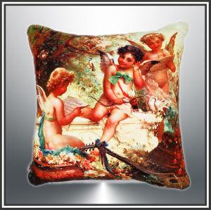 Cotton Cushion, Canvas Cushion Digital Printed Cushion pictures & photos