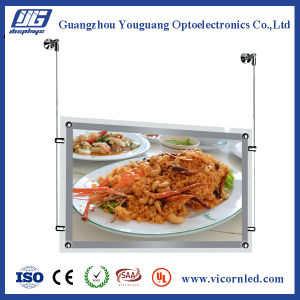 Double Side Clear Acrylic LED Light Box-CRD