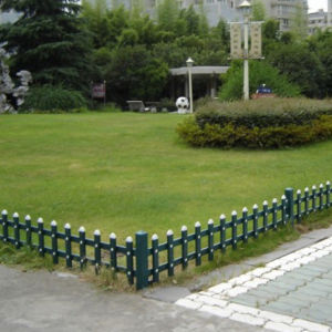 Plastic Garden Fence for Residential Area pictures & photos