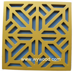 Carved Grille MDF Wodden Decorative Panel (WY-52) pictures & photos
