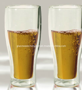 High Borosilicate Double Wall Beer Glasses (PJB-04) pictures & photos