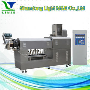 China Hot Sale Automatic Single Screw Potato Chips Extruder pictures & photos