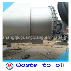 Continuous Automatic Feeding Tyre Pieaces to Fuel Oil Recycling Pyrolysis Plant with High Oil Output