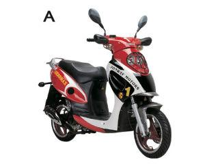 Classic 50cc/125cc Gas Scooter (YY50QT-21A)