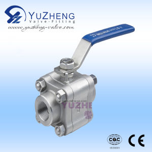 Stainless Steel High Pressure Forged 3PC Ball Valve pictures & photos