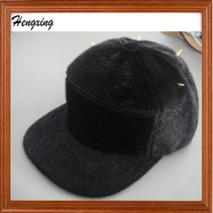 Black Fashion 5 Panel Warm Hat pictures & photos