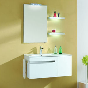 Lacquer Bathroom Cabinets