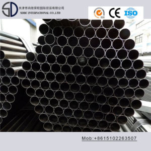 Ss400 Ss330 S235jo Cold Rolled Carbon Round Steel Pipe for Flag Poles pictures & photos