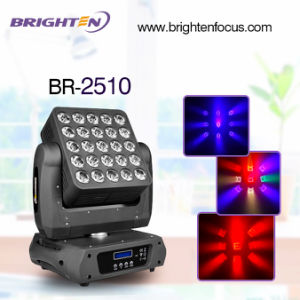 5*5 10W Matrix RGBW LED Moving Head Light Wash pictures & photos