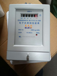 Cheapest Dds118 Single Phase Electronic Energy Meter Watt-Hour Meter pictures & photos