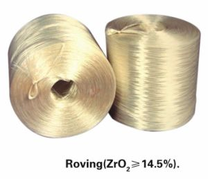 Alkali Resistant Fibreglass Roving Zro2 14.5% Yellow pictures & photos