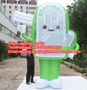 Inflatable Glove Billboard for Outdoors Promotion