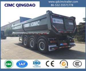 Cimc 3 Axle 60 Ton Tipper Truck /Semi Trailer on Sales Truck Chassis pictures & photos