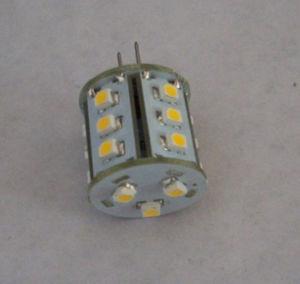 3528 18LEDs 10-30V G4 T10 Ba9s LED Auto Lamp pictures & photos