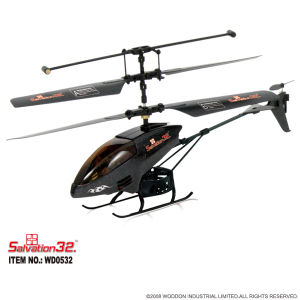 RC Toy Infrared Control 3CH Mini Helicopter (WD0532)