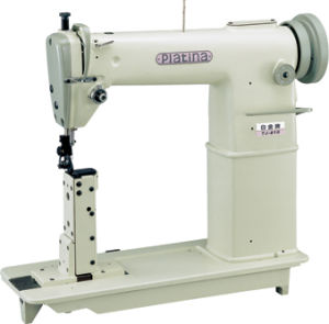 High Speed Double Needles Posted Lockstitch Sewing Machine (TJ-820)