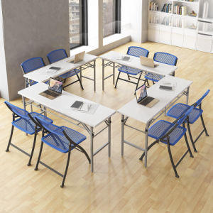 Library Furniture Foldable Reading Table for Meeting Room on Sale pictures & photos
