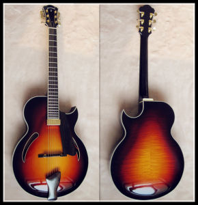 Hihg Quality Plywood Jazz Guitar (YZ-108S)
