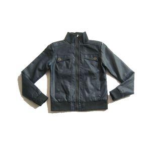 Good Quality Safe Jacket Black Kids PU Jacket